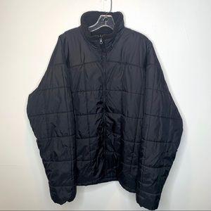 Columbia Men's Quilted Fleece Lined Zip Up Coat